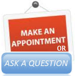 Ask question or make appointment