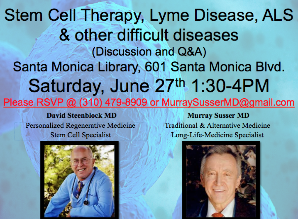 Stem Cell Therapy, Lyme Disease, ALS & other difficult diseasesStem Cell Therapy, Lyme Disease, ALS & other difficult diseases